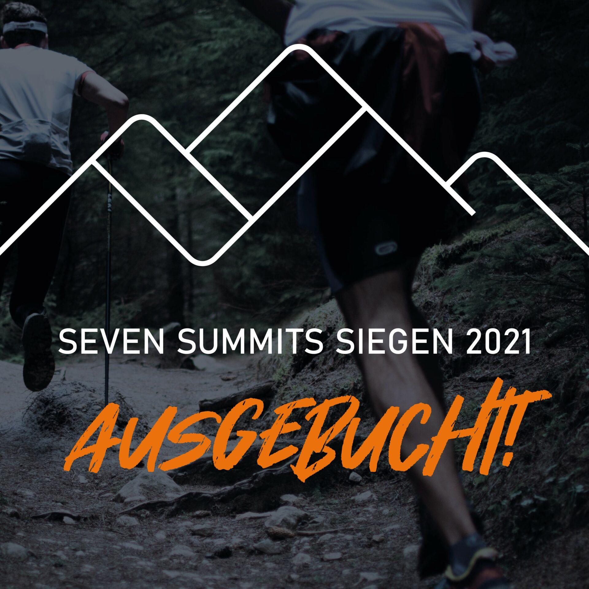 SEVEN SUMMITS SIEGEN 2021 ausgebucht!